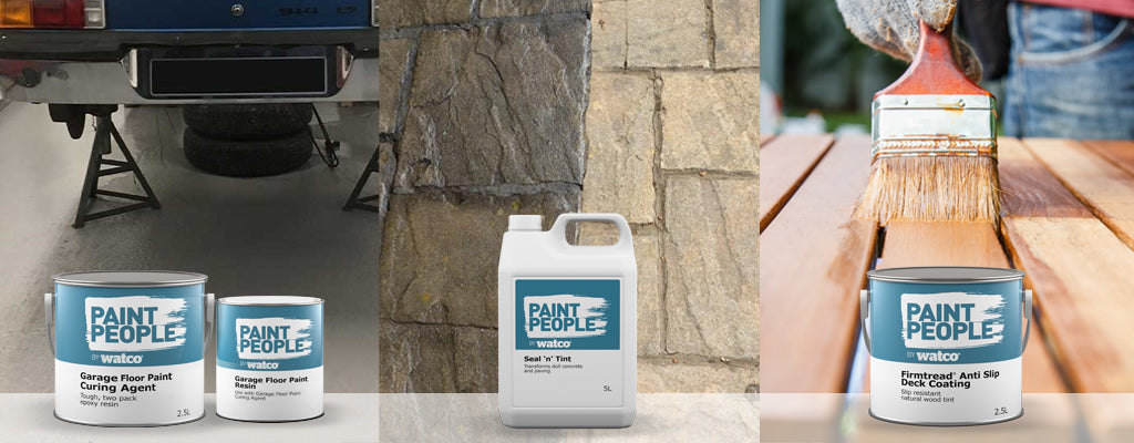 paint people range of products