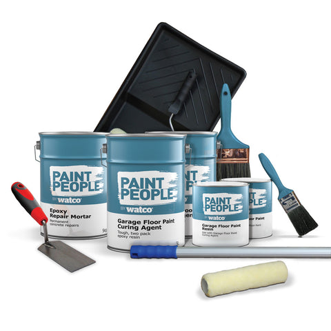 Garage Floor Repair & Paint Kit