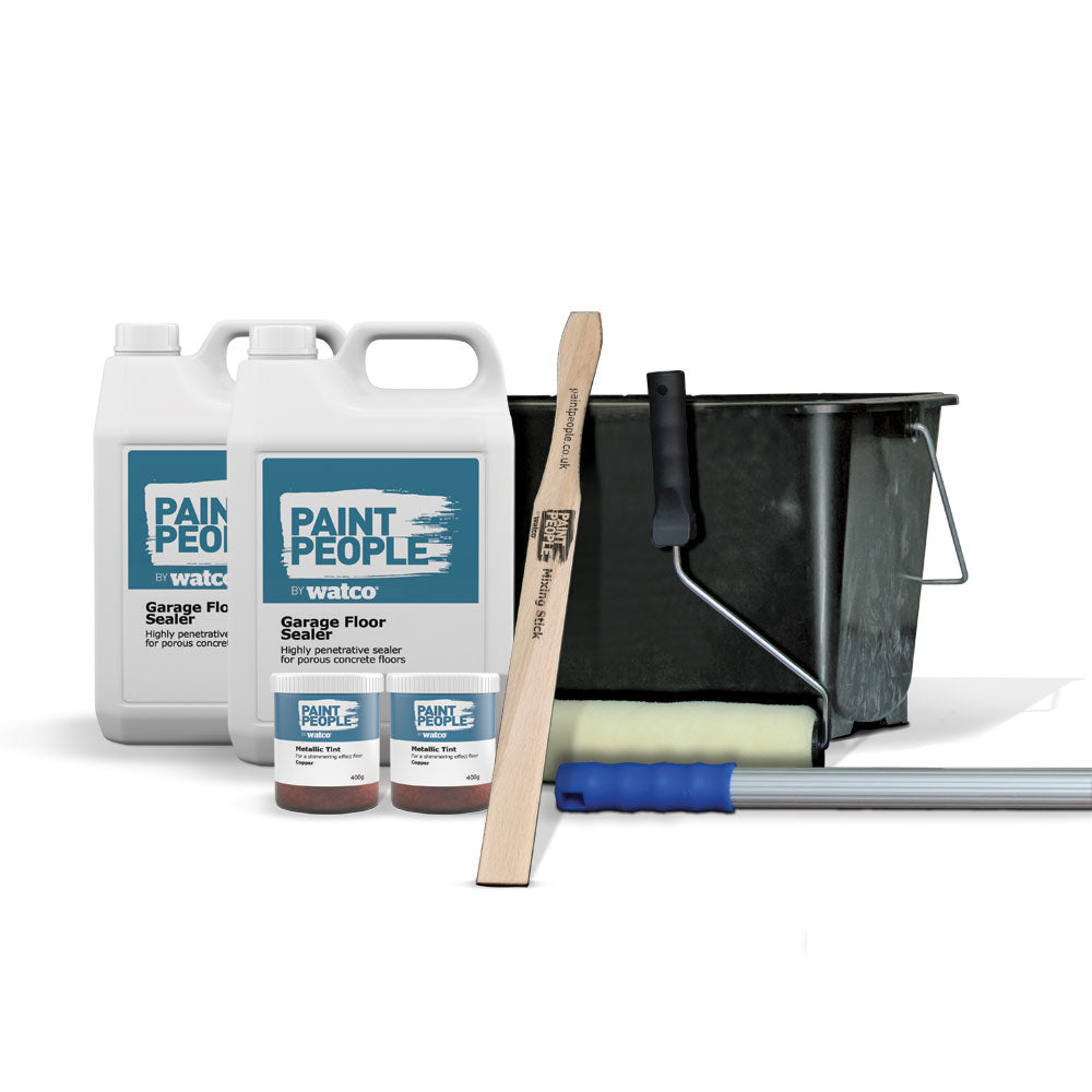 Metallic Garage Floor Sealer Kit