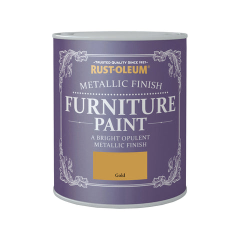 Rust-Oleum Metallic Furniture Paint 750ml