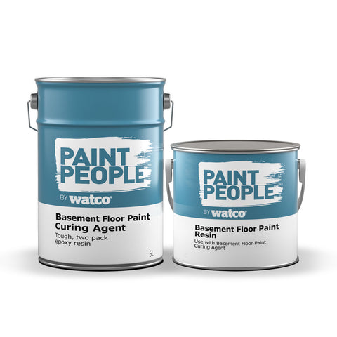 Two Part Epoxy Basement Floor Paint