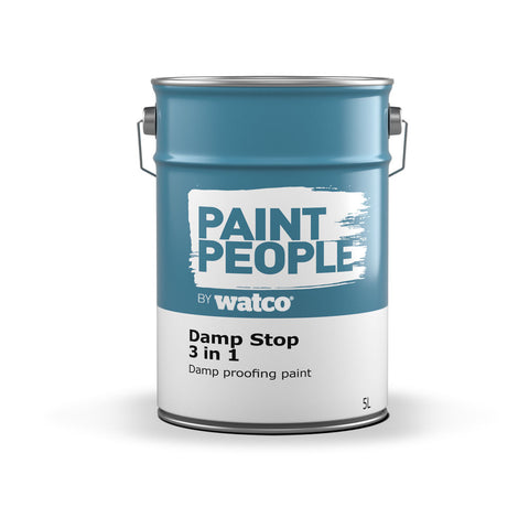 Damp Stop 3 in 1 Damp Proofing Paint - 5L
