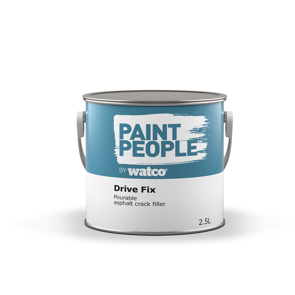 Paintpeople Drive Fix Asphalt Crack Filler tin