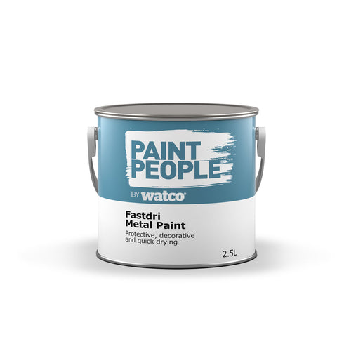 Fastdri Metal Paint  Can- Protective decorative and quick drying.