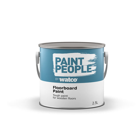 Paintpeople Floorboard Paint Tin Tough Paint for wooden floors