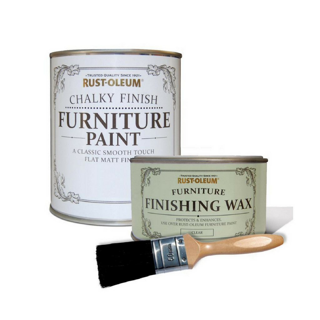 Rust-Oleum Chalky Furniture Paint Kit