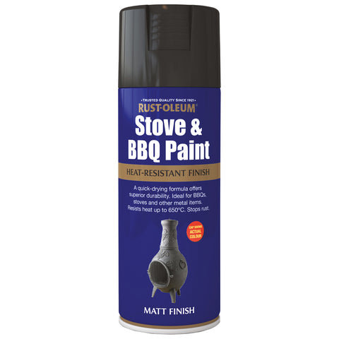 Rust-Oleum Stove & BBQ Spray Paint 400ml