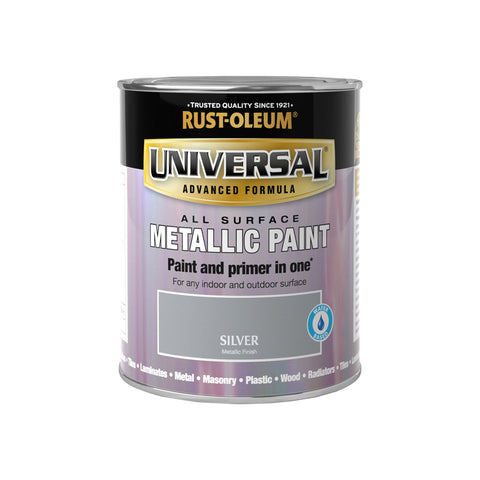 Rust-Oleum Universal Metallic Brush Paint 250ML