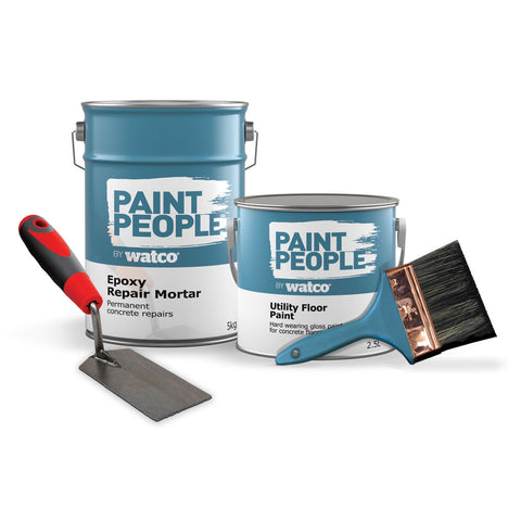 Utility Floor Repair and Paint Kit