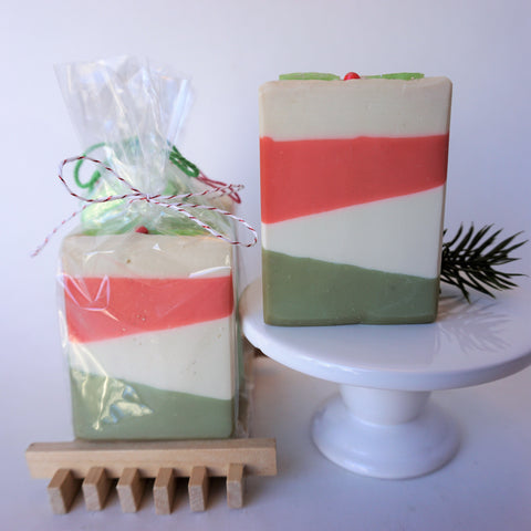 Christmas Treat Sized Artisan Soap Bars