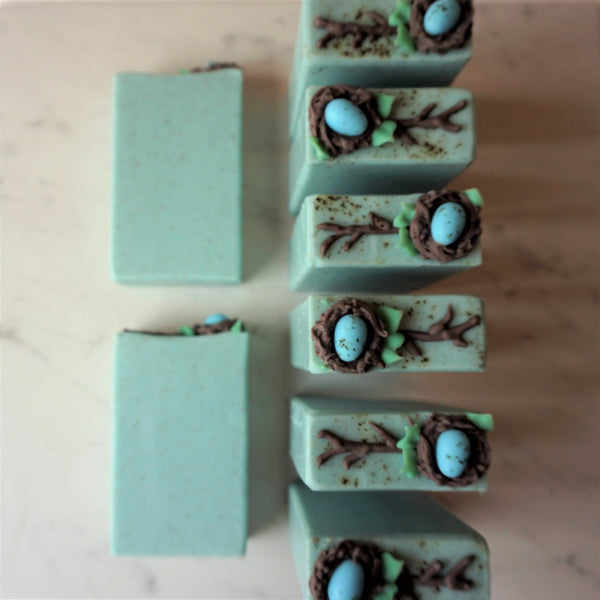 Robin's Egg Artisan Soap Bar