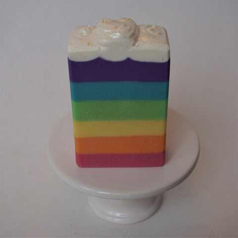 Rainbow Artisan Soap Bar