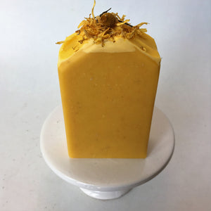 Carrot with Bergamot and Chamomile Artisan Soap Bar