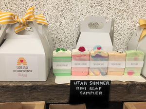 I Love Utah Summer Soap Sampler