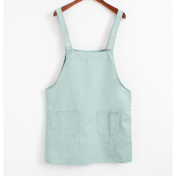 Basic Overall Dress Mint / One Size
