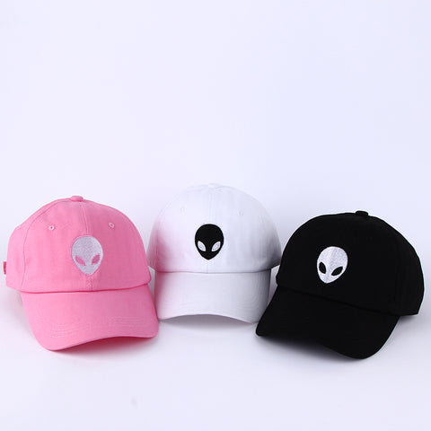Embroidered Alien Dad Cap