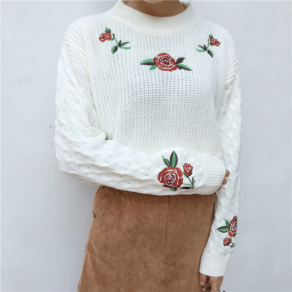 Rosey Posey Sweater