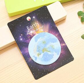 Space Sticky Notes Earth