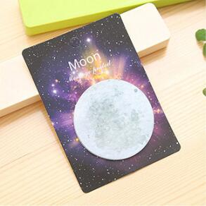 Space Sticky Notes Moon