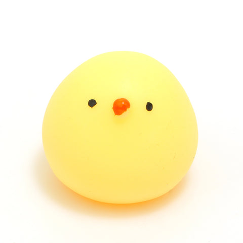 Round Chicken Squishy Toy