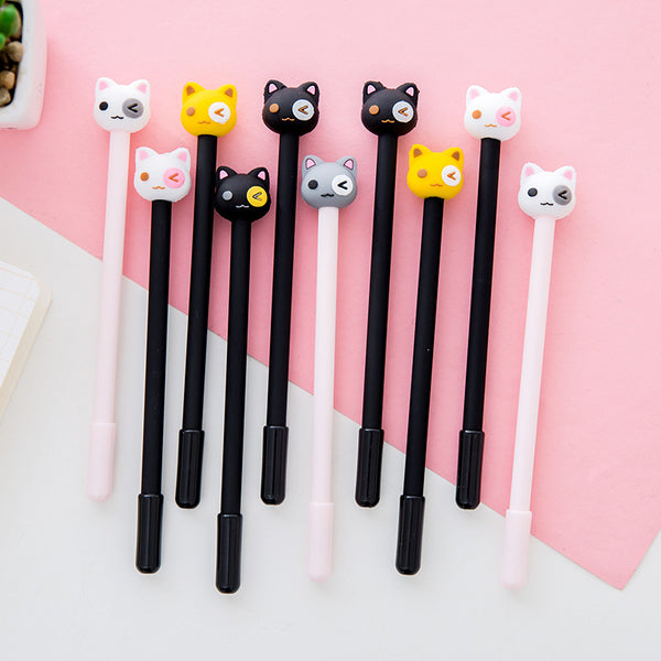 Kawaii Cat Pen Set
