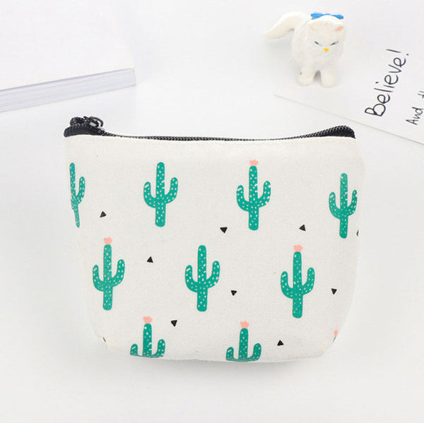Cactus Print Coin Purse Style 2