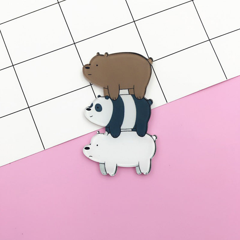 We Bare Bears Acrylic Pin