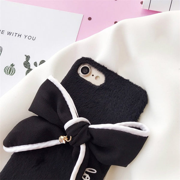 Bowknot Case For Iphone Phone