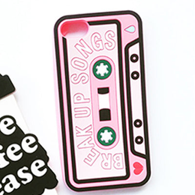 Coffee & Mix Tape Case For Iphone / I7Plus Phone