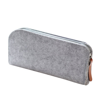 Felt Pencil Case Grey Rectangle