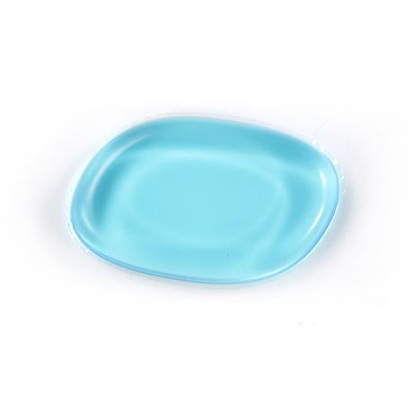 Silicone Make Up Sponge Oblique / Blue