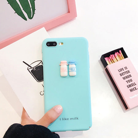 Milk & Coffee Case For Iphone Baby Blue / I7Plus Phone