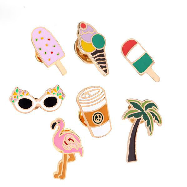 Summer Style Pin Set