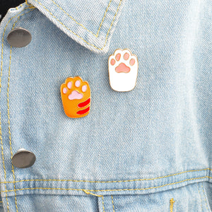 Cat Paw Pin Set