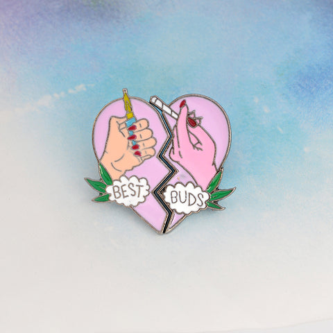 Best Buds Pin Set