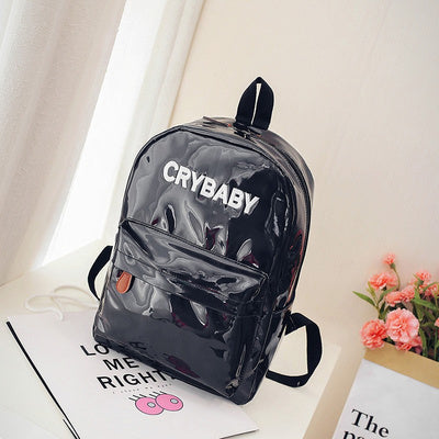 Crybaby Holographic Backpack Black