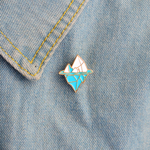 Tip Of The Iceberg Pin