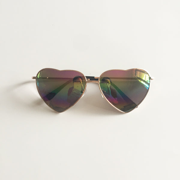 Vintage Gradient Glasses Rainbow