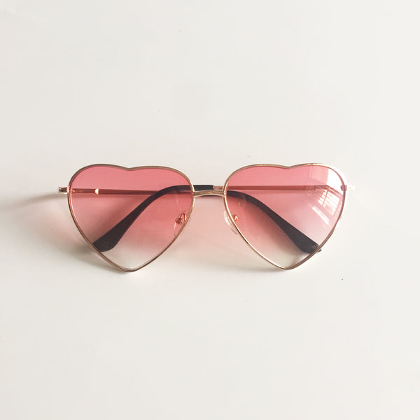 Vintage Gradient Glasses Pink