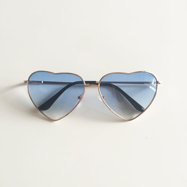 Vintage Gradient Glasses Blue
