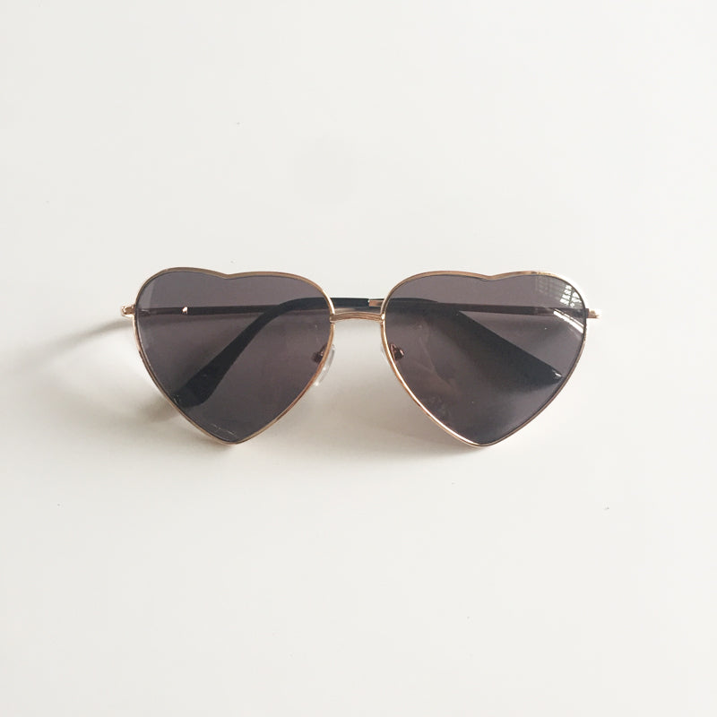 Vintage Gradient Glasses Black