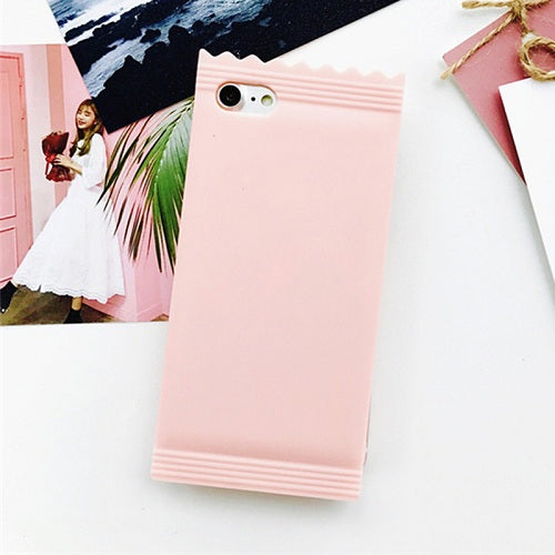 Candy Wrapper Case For Iphone Pink / For Iphone 6 6S Phone