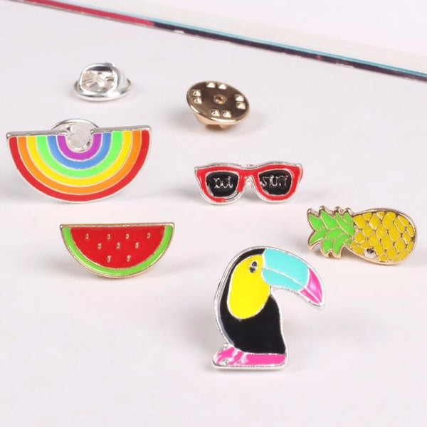 Colorful Summer Pins Pin