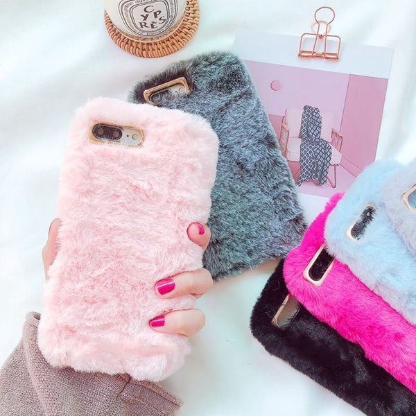 Fluffy Case For Iphone Phone