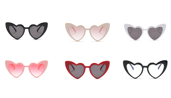 'Betty' Heart-Shaped Sunnies