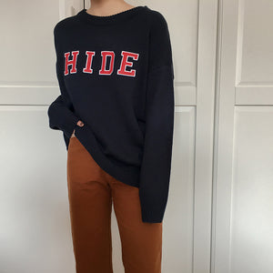 'HIDE' Pullover Sweater - The Toasted Coconut