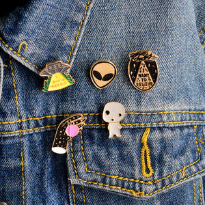 Aliens Exist Pin Set - The Toasted Coconut