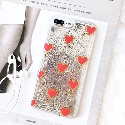Love Always Wins Liquid Case For Iphone Style 2 / I7Plus I8Plus Phone