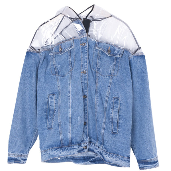 The Denim Raincoat