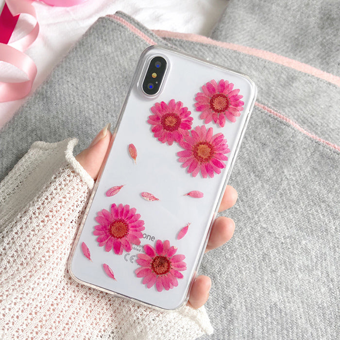 From Jenny Vintage flowers Phone Case for ipone X 8 8plus Fashion Ethnic style TPU Soft Case for iphone 7 7plus 6 /6S Plus Back - The Toasted Coconut